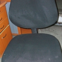 Black Typist Chair...20-units available-Secondhand
