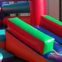 3in1 4x7 Castles with a Slide For Sale!!!