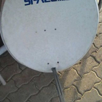 Satellite dish space HD