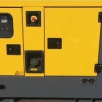 Diesel Atlas-Copco QES 30 - 30 kVA DPX-19406 Silent Generator Brand New