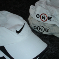 Golf caps and visors
