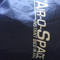 Air O Space blow up Queen size mattress plus pump