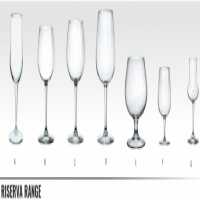 RISERVA RANGE - WINE TASTING GLASS - CHAMPAGNE GLASS - NEBBIOLO GLASS