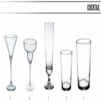 COCKTAIL GLASSES - GLASSWARE
