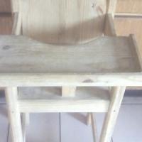 BaBa Eet stoeltjie ( Soliede hout)
