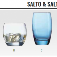 SALTO & SALTO ICE BLUE - GLASSWARE