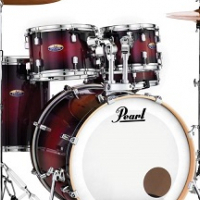 PEARL DECADE MAPLE 5 PIECE DRUM KIT