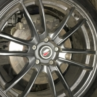 Lenzo project D rims with tires for sale