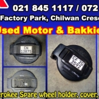 Spare wheel covers, holders and brackets for sale