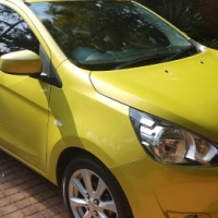 2014 Mirage 1.2 GLS with Fashionista kit and full service record