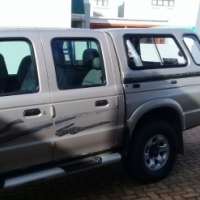 2001 MAZDA DRIFTER 2.6 D/C 4X4 WITH FSH. EXCELLENT CONDITION. VERNE 0712867356 ALL HRS