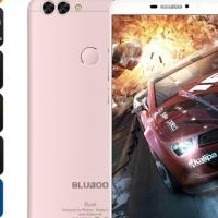 Bluboo Dual Smartphone - Dual Camera, Android 6.0, Quad-Core CPU, 5.5-Inch FHD, 4G, 3000mAh (Rose Go