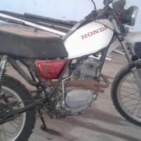 Honda XT 500 Motorbike