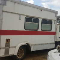 1985 Mitsubishi Canter Old Ambulance --This is a project