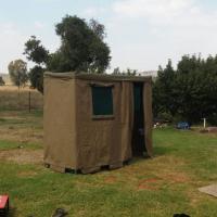 Portable camping bathroom
