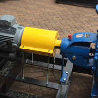 Pumps x 2 (10hp / 7.5kW) 300m3/h (for Class 6 piping)