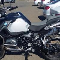 2017 BMW 1200 ADVENTURE met GPS en seiltjie slegs 1100 km