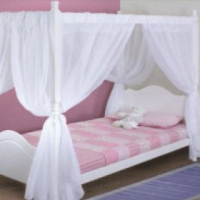 Single Princess 4 poster bed ,Contact Woodnbeds 0117937303