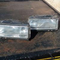 Audi 500 turbo head lights 1000r set .fenders 600r set .turbo front Fallons .boot reflect