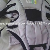 Baby carrier as good as new