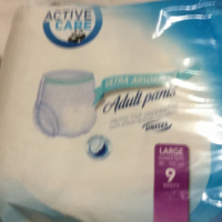 Active care adult diapers