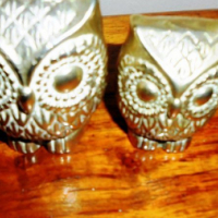 Beautiful Brass owls both for R80