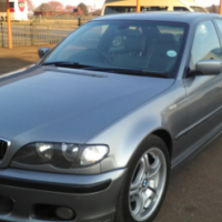 2005 BMW 320i Motor Sport Automatic with Sun Roof