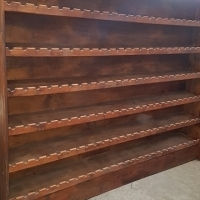 Large wooden Wine rack