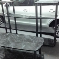 Wall unit and coffee table for sale