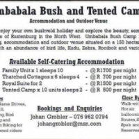 Umbabala Bush and Tended Camp