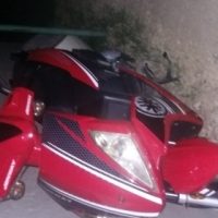Motorcycle is still new and going just don't need it anymore u can call me I'm in cosmocity  under R