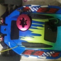 Thunder tiger EB4 Pro RC car
