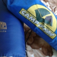 Camp tent and Sleeping bag