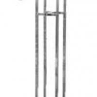 4 Arm Clothing Rail