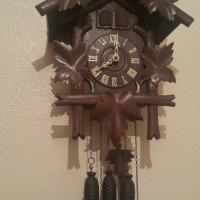 Herbert Herr Double Cuckoo Clock