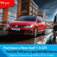 Purchase a New Golf 7.5 GTi