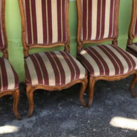 4 x French chairs for sale