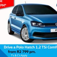Drive a Polo Hatch 1.2 TSi Comfortline