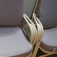 x4 Cane outdoor chairs