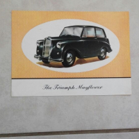 Truimph Mayflower: original showroom brosjure