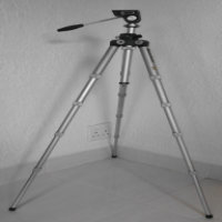 Tripod for Camera's (TV, Digital etc.), Foldable