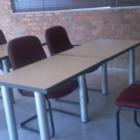 Desks and chairs for more than 5 classes