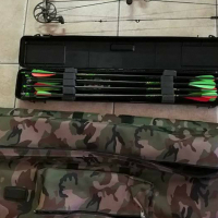 Mathews compound bow with accessories