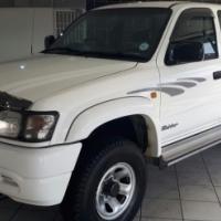 2002 Toyota - Hilux 2700i Raider R/B Double Cab Facelift