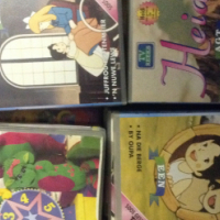 VHS Videos. Whole Heidi series, Barney and other 39 tapes