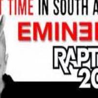EMINEM Rapture Tour South Africa 2014