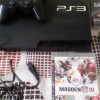 PS3 + 2 controllers and games