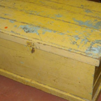 Solid Oregon Pine Chest