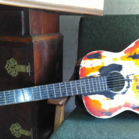 Colored guitar for sale