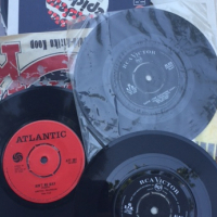 RECORDS - 78RPM, AND 45'S